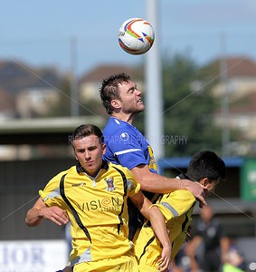 CHIPPENHAM TOWN 1 - 2  AFC TOTON 31st August 2012