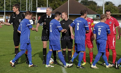 CHIPPENHAM TOWN V CHERTSEY TOWN MATCH PICTURES F.A. TROPHY 1st Q 19th Oct 2013
