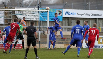 CHIPPENHAM TOWN V HEMEL HEMPSTEAD TOWN MATCH PICTURES 14th Dec 2013