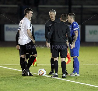CHIPPENHAM TOWN V MERTHYR TOWN MATCH PICTURES 12th Nov 2013
