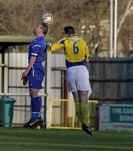 CHIPPENHAM TOWN V ST.ALBANS CITY MATCH PICTURES 11th Jan 2014