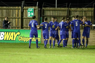 CHIPPENHAM TOWN V ST.NEOTS TOWN MATCH PICTURES 28th Jan 2014