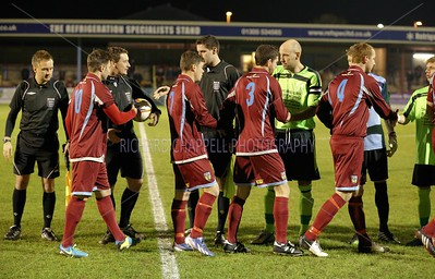 CHIPPENHAM TOWN V WEYMOUTH MATCH PICTURES 26th Nov 2013