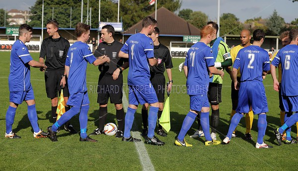 CHIPPENHHAM TOWN V CHESHAM UNITED MATCH PICTURES 12th OCTOBER 2013