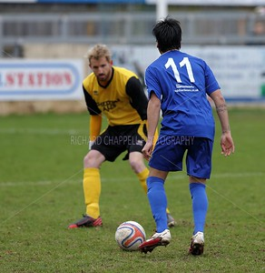 CHIPPENHAM PARK V CHEDDAR FC 18TH Jan 2014
