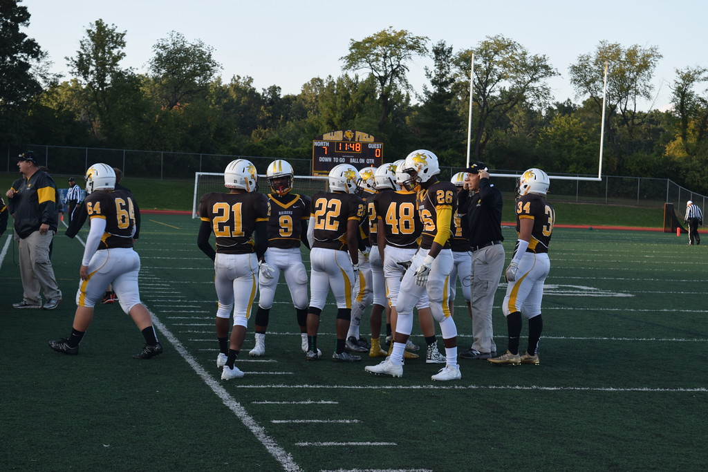 . North Farmington won its first game since 2015 with a 26-16 victory over Pontiac on Friday. (Photo by Paula Pasche)