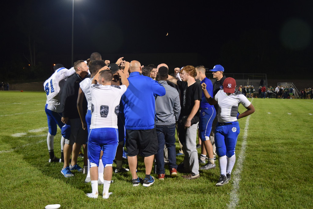 . Oakland Christian rolled over Southfield Christian on Friday night in Auburn Hills. (Photo by Paula Pasche)