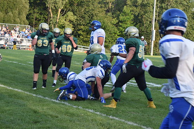 Oakland Christian rolled over Southfield Christian on Friday night in Auburn Hills. (Photo by Paula Pasche)
