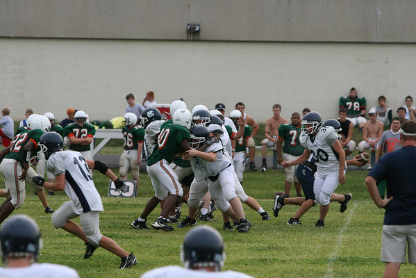 MCHS JV and Varsity vs. Hart Co. scrimmage