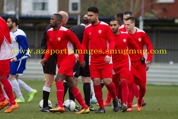 055 ESL  Waltham Forest 2-2 Newham FC