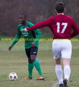 INTER LEAGUE CHAMPIONS CUP SEMI FINAL HACKNEY MARSHES 22nd Feb 2015 MK GALACTICOS  6-3  GOWER ALLSTARS