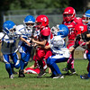 SciCoh Sharks 2nd/3rdth Grade Football Team battled against Bridgewater at Legion Field in Bridgewater, Mass on September 29, 2013