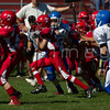 SciCoh Sharks 7th Grade Football Team battled against Bridgewater at Legion Field in Bridgewater, Mass on September 29, 2013