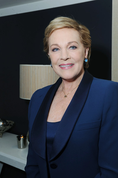 Julie Andrews Portrait Sitting