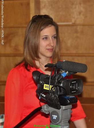 #WednesdayWorkshop [2.11.15] Channel 2 ABC News