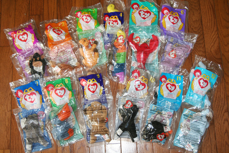 Remember the Teenie Beanie Babies sold by McDonald s in 1998  They were an  instant hit ae5318faad4