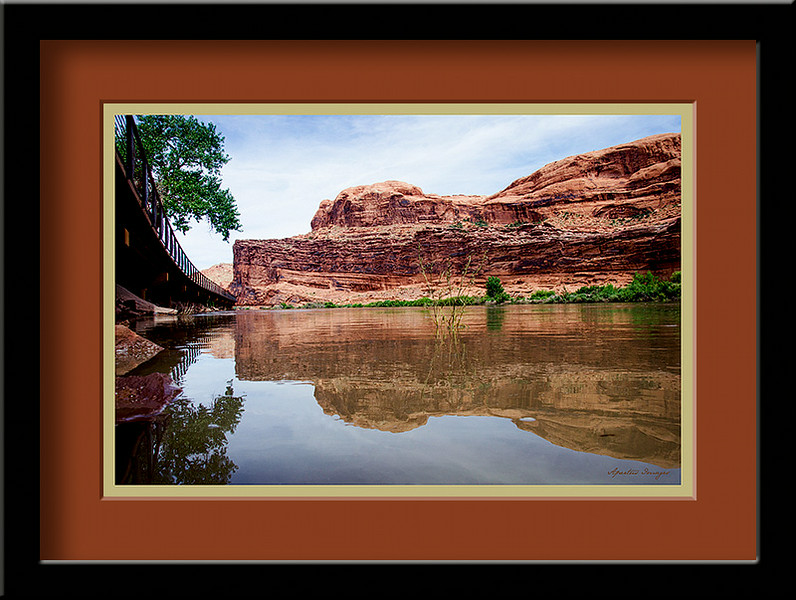 """Colorado River"" (Captured in Utah, near MOAB, along the Colorado River, 2014)"