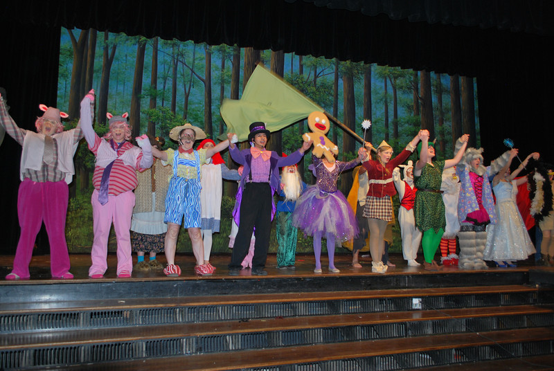 "The fairy-tale creatures proclaim that they're going to let their freak flag fly and fight against the tyranny of Lord Farquaad during Fort Morgan High School's production of ""Shrek the Musical,"" which takes the stage in the Glenn Miller Auditorium at 7 p.m. Thursday, Friday and Saturday, Nov. 21-23, 2013, plus a 2 p.m. matinee Saturday. (Jenni Grubbs/Fort Morgan Times)"