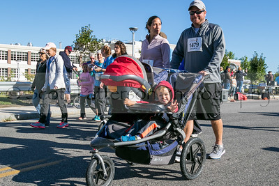 Participants of all ages attend the 3rd annual Seacoast Cancer 5K held in Dover Sunday. Photo by Scott Patterson/Fosters.com