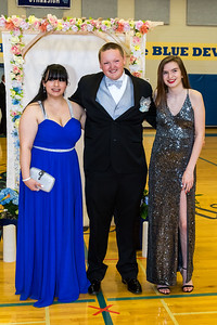Students attend the Epping High School Prom Friday in Epping. [Scott Patterson/Seacoastonline]