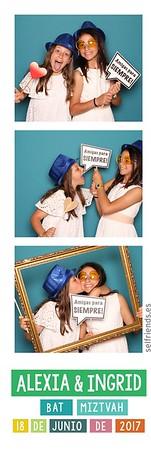 20170618 Ingrid & Alexia (Bat Miztvah, Rte Principal Eixample)
