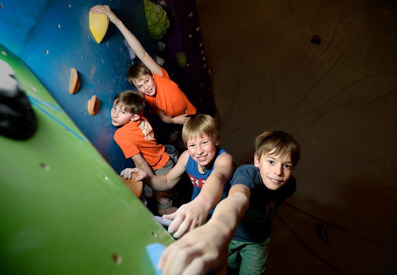 Kid Climbers