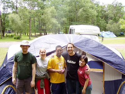 Young Adult Camping Trip Summer 2005