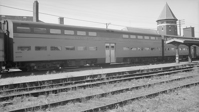 2009.026.13.11337--ritzman 116 neg--C&NW--commuter bi-level coach 18--DeKalb IL--1959 0905