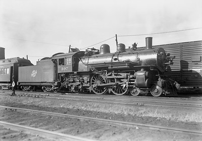 2009.026.01.12702--ritzman 5x7 negative--C&NW--steam locomotive 4-4-2 D 397--Janesville WI--1939 0922