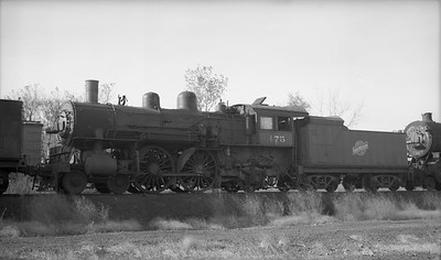 2009.026.01.12717--ritzman PC negative--C&NW--steam locomotive 4-4-2 D 475--Boone IA--1940 1019
