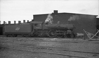 2009.026.01.12701--ritzman PC negative--C&NW--steam locomotive 4-4-2 D 397--West Chicago IL--no date