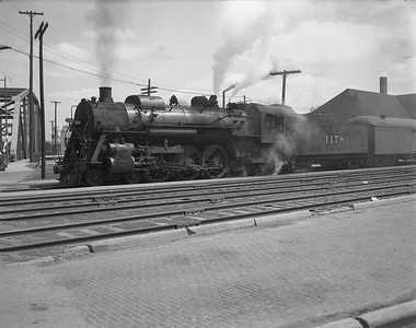2009.026.01.14317--ritzman 4x5 negative--ICRR--steam locomotive 4-6-2 1178--Freeport IL--1950 0414