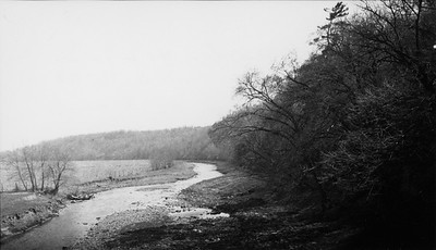 2009.026.2.35.015--ritzman print--C&NW--view looking north from wye at west end of tunnel--Strawbridge WI--1934 0429