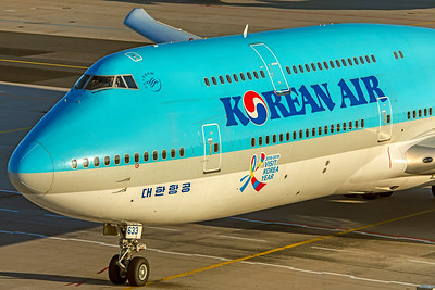 Korean Air Lines Boeing 747-8B5 HL7633 10-21-18 2