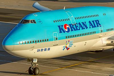 Korean Air Lines Boeing 747-8B5 HL7633 10-21-18 2