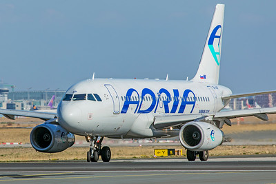 Adria Airways Airbus A319-132 S5-AAP 10-21-18