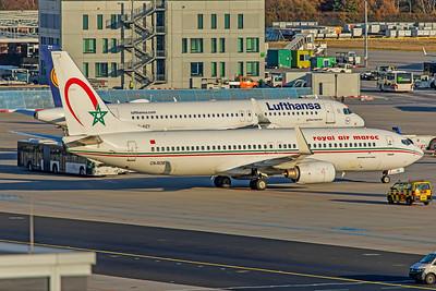 Royal Air Maroc Boeing 737-8B6 CN-ROB 10-21-18