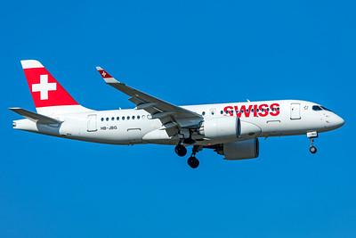 Swiss Airbus A220-100 HB-JBG 10-21-18