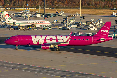 WOW air Airbus A321-211 TF-NOW 10-21-18
