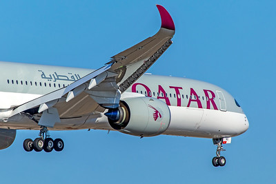 Qatar Airways Airbus A350-1041 A7-ANC 10-21-18