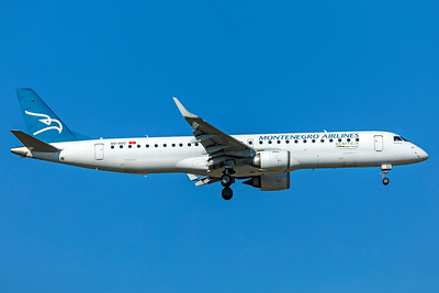 Montenegro Airlines Embraer ERJ-190-200LR 4O-AOC 10-21-18