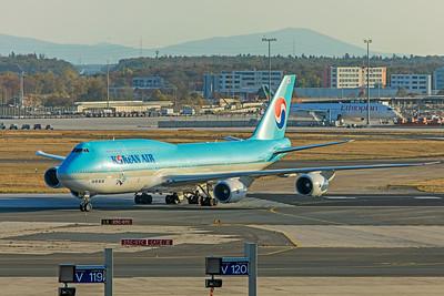 Korean Air Lines Boeing 747-8B5 HL7633 10-21-18