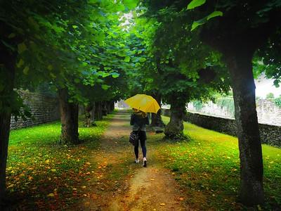 Rainy afternoon at Château de Bussy-Rabutin