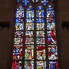 Hotel Dieu Stained Glass Window.