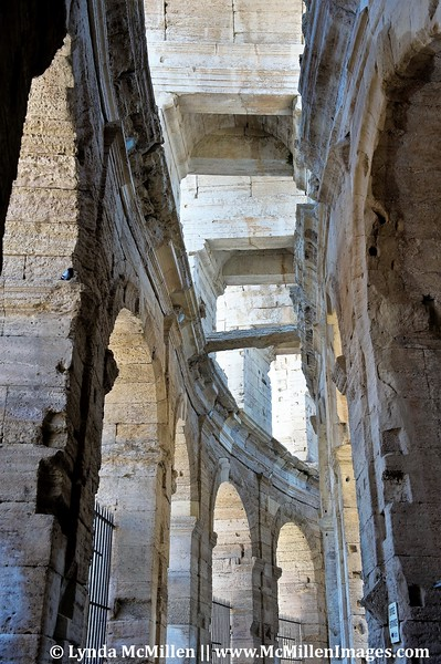 Arles Arena still standing after 1700 years.