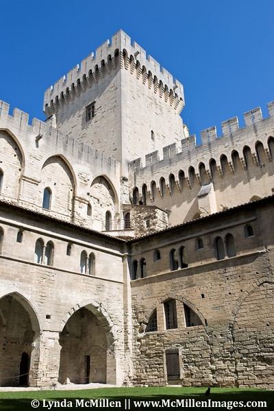 700+ year old Palace of the Popes.