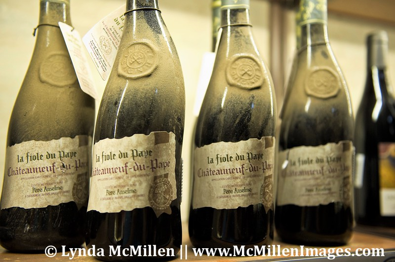 Well aged Chateauneuf-de-Pape Wine