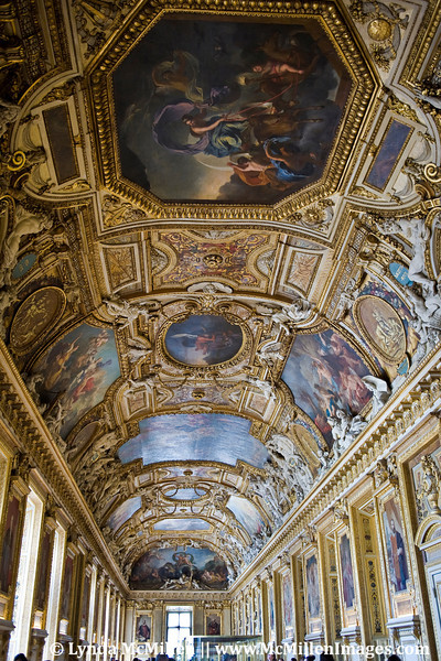 Hallway to the Winter-Side of Louvre's palace.