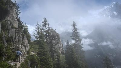 Between Planpraz and La Flégère