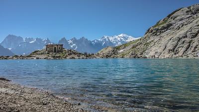 """The white lake (""""Le Lac Blanc"""")"""